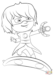 luna on luna board coloring page free printable coloring pages
