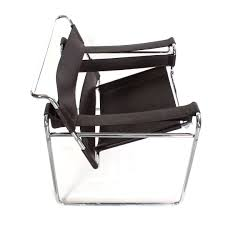 breuer chair leather wassily b3 chair black leather marcel breuer