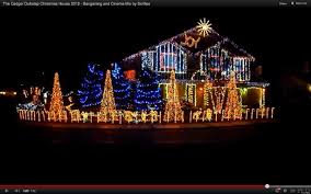 Christmas Lights House by Dubstep Christmas Light Show At Cadger Family Home Sets 40 000