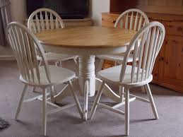 shabby chic dining table top 50 shabby chic round dining table and chairs home decor ideas uk