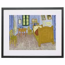 gogh chambre arles gogh chambre à arles 1889 toile imprimer peinture affiche