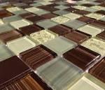 DIY Tile Backsplash Kit 8FT Amazon Dark | Mineral Tiles