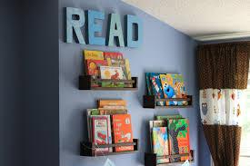 diy book nook read sign u0026 ikea spice rack bookshelf hack