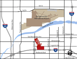 210 Freeway Map I 10 Redlands Logistics Center Project Location