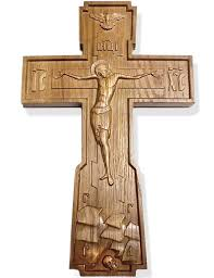 wooden wall crosses wooden russian wall cross large at holy store