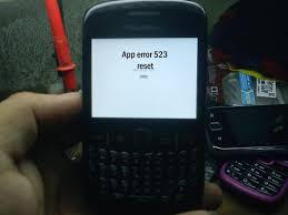 reset hard blackberry 8520 blackberry 8520 application error 523 done using bbsak