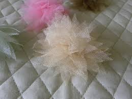 tulle flowers tulle flowers hip girl boutique free hair bow