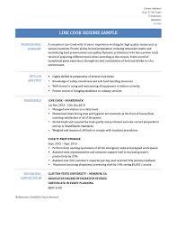 Job Description Of A Line Cook For Resume by Lovely Design Ideas Line Cook Resume 9 Sample Line Cook Resume
