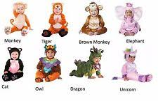 Halloween Costumes Babies 0 6 Months Baby Monkey Costume Ebay