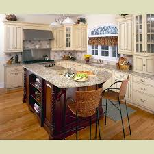 Cream Kitchen Cabinets With Glaze Cream Kitchens Kitchen Design Software