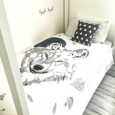 Asda Single Duvet Animal Wolf 3d Effecr Duvet Cover Bedding Set Wolf Duvet Cover
