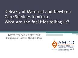 emergency obstetric and newborn care signal functions and health