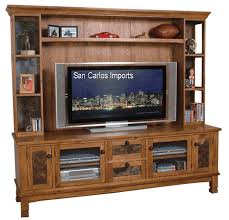 Design For Oak Tv Console Ideas Solid Oak Entertainment Center Wall Units Design Ideas