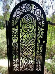 metal garden gate u2013 exhort me