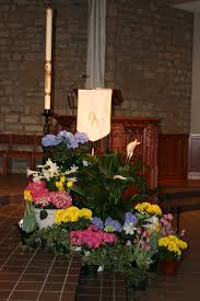 Easter Decorations For Church Sanctuary by St Joan Of Arc Catholic Church Easter Decorations Mount