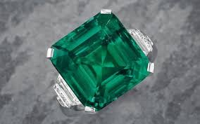 emerald rings uk harry winston buys the rockefeller emerald for 5 5 million a