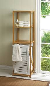 Bamboo Shelves Bathroom Smart Living Company Bamboo Her Shelf Home Kitchen