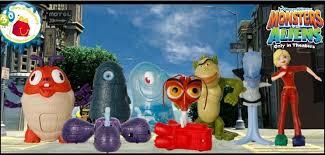 monsters aliens toys mcdonalds toy alert