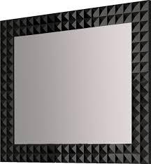 black bathroom mirrors mirror design ideas tempered glass black bathroom mirror awesome