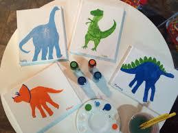 dinosaur handprint birthday card a team artwork pinterest