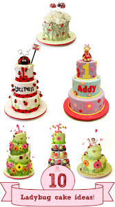 bug cakes our top ten ladybug themed cakes for children pink cake box