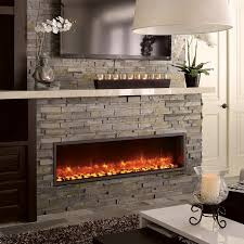 Electric Fireplace Insert Dynasty Built In Electric Led Fireplace Hayneedle