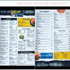online menu of backyard sports bar u0026 grill restaurant myrtle