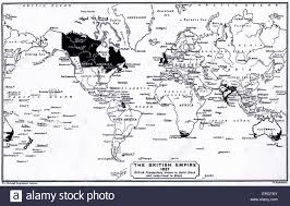 Map Of The World Black And White by British Empire Map Stock Photos U0026 British Empire Map Stock Images
