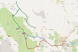 Megabus Route Map by Las Vegas To Death Valley All The Ways To Get There