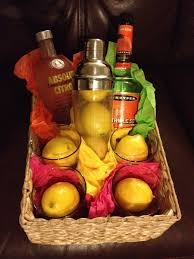 martini gift basket 40 best images about auction baskets on bloody