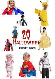 hottest halloween costumes the hottest halloween costumes for kids the spring mount 6 pack