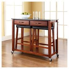 kitchen cart island solid black granite top kitchen cart island crosley target