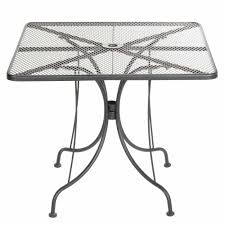 36 Patio Table Patio Table With Umbrella American Tables Seating Alm3636