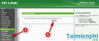 how to reset tp link wifi cách reset modem wifi tp link thiết lập lại modem tp link