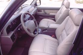 Toyota Land Cruiser Interior 1990 97 Toyota Land Cruiser Consumer Guide Auto