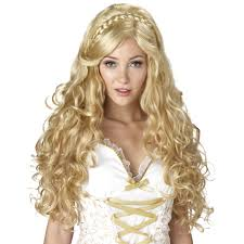 halloween doll wig mythic goddess wig buycostumes com