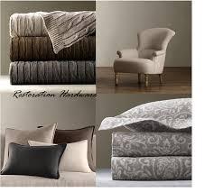 Restoration Hardware Throw Grey Wool Wood Velvet Texture Inspiration For Decor