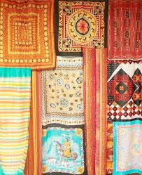 Colorful Patterned Curtains Best 25 Scarf Curtains Ideas On Pinterest Bohemian Curtains