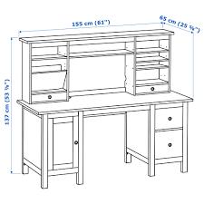 Pc Schreibtisch Mit Aufsatz Hemnes Schreibtisch Mit Aufsatz Weiß Gebeizt Ikea