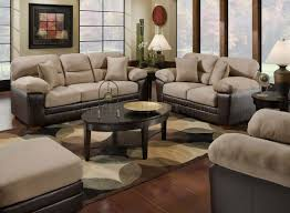 Sofas And Loveseats Sets by Mocha Microfiber Sofa U0026 Loveseat Set W Bonded Leather Base