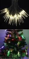 super bright 10m 50 led icicle fairy string lights for new year