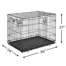 dog grooming salon floor plans amazon com midwest life stages folding metal dog crate pet