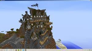 minecraft mountain house ideas