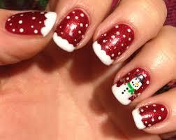 christmas nail design easy easy christmas nail ideas pinterest