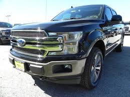 2018 ford f150 king ranch 5 miles shadow black crew cab pickup