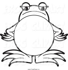 royalty free coloring page stock frog designs