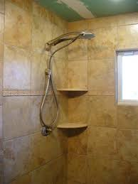 shower corner shelf ceramic tile advice forums bridge
