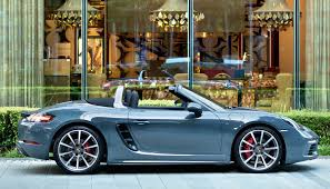 Porsche Boxster Navy Blue - porsche u0027s boxter gets a turbocharger in its engine bay and loses a