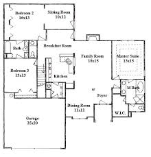 house plans with inlaw quarters vibrant 12 single house plans with guest quarters 2 master