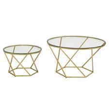 glass nesting coffee tables geometric glass nesting coffee tables saracina home target